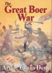 Cover of: The Great Boer War by Sir Arthur Conan Doyle