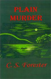Cover of: Plain murder by C. S. Forester