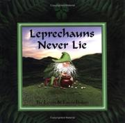 Cover of: Leprechauns never lie by Lorna Balian