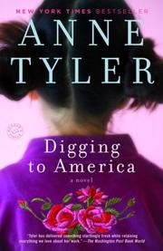 Cover of: Digging to America by Anne Tyler