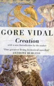 Cover of: Creation by Gore Vidal
