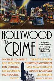 Cover of: Hollywood And Crime by Robert J. Randisi