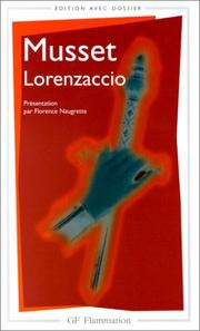 Cover of: Lorenzaccio by Alfred de Musset