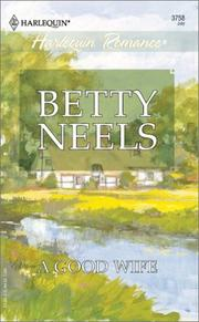 Cover of: A good wife by Betty Neels