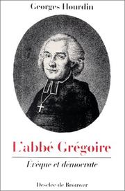 Cover of: L&#39; abbe Gregoire by Georges Hourdin