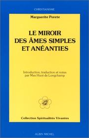 Cover of: Miroir des simples âmes by Marguerite Porete