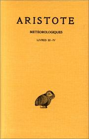 Cover of: Meteorologica by Aristotle