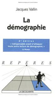 Cover of: La Démographie by Jacques Vallin
