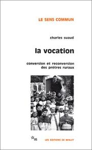 Cover of: La Vocation by Charles Suaud