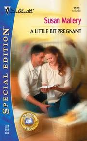 Cover of: A little bit pregnant by Susan Mallery