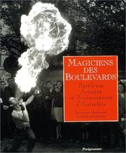 Cover of: Magiciens des boulevards by Laurence Berrouet