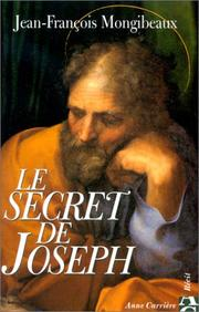 Cover of: Le secret de Joseph by Jean-François Mongibeaux