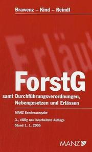 Cover of: Forstgesetz 1975 by Austria., Austria