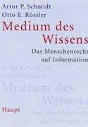 Cover of: Medium des Wissens by Artur P. Schmidt
