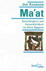 Cover of: MA-at Griecht Und Unsterblikeit in Alte Egypten by Jan Assmann