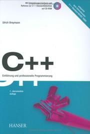 Cover of: C++ by Ulrich Breymann