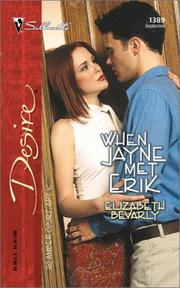 Cover of: When Jayne Met Erik (20 Amber Court) by Elizabeth Bevarly