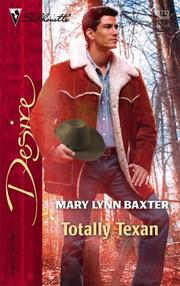 Cover of: Totally Texan by Mary Lynn Baxter