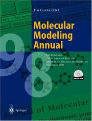 Cover of: Molecular Modeling Annual 1998 by Timothy Clark