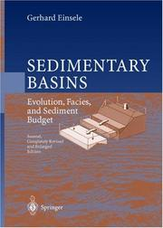 Cover of: Sedimentary basins by Gerhard Einsele