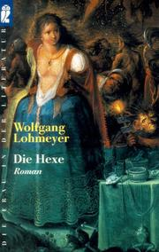 Cover of: Die Hexe by Wolfgang Lohmeyer