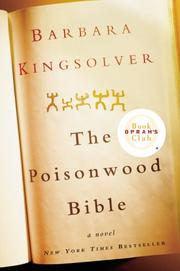 Cover of: The Poisonwood Bible by Barbara Kingsolver
