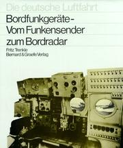 Cover of: Bordfunkgerate by Fritz Trenkle