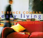 Cover of: Easy Living by Terence Conran