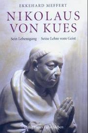 Cover of: Nikolaus von Kues by Ekkehard Meffert