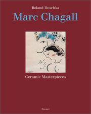 Cover of: Marc Chagall by Marc Chagall
