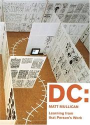 Cover of: DC: Matt Mullican by Robert Morris