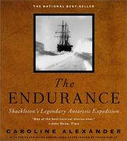 Cover of: The Endurance by Alexander, Caroline