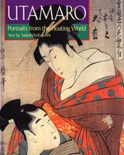 Cover of: Utamaro by Tadashi Kobayashi