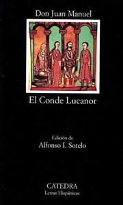 Cover of: Conde Lucanor by Juan Manuel Infante of Castile