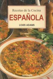 Recetas de la Cocina Espanola (Spanish Edition) Louis Adams