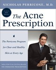 Cover of: The Acne Prescription by Nicholas Perricone