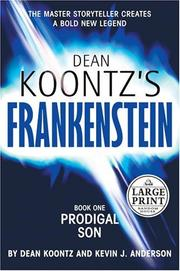 Cover of: Dean Koontz&#39;s Frankenstein by Dean Koontz