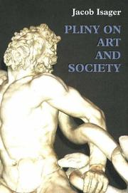 Cover of: Pliny on art and society by Jacob Isager