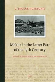 Cover of: Mekka by C. Snouck Hurgronje