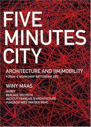 Cover of: Five minutes city by Winy Maas