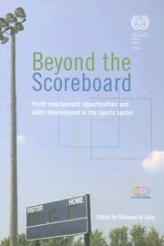 Cover of: Beyond the Scoreboard by Giovanni di Cola