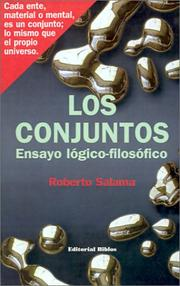 Cover of: Conjuntos by Roberto Salama