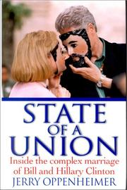 Cover of: State of a Union by Jerry Oppenheimer