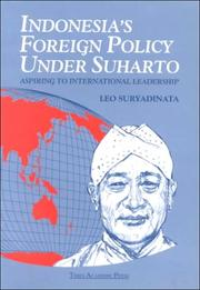 Cover of: Indonesia&#39;s Foreign Policy Under Suharto by Leo Suryadinata
