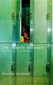Cover of: The Tennis Partner by Abraham Verghese