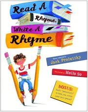 Cover of: Read a Rhyme, Write a Rhyme by Jack Prelutsky