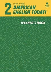 Cover of: American English Today! Teachers Book 2 (American English Today!) by D. H. Howe