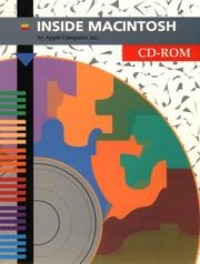 Cover of: Inside Macintosh/Cd-Rom (INM) by Apple Computer Inc.