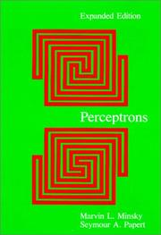 Cover of: Perceptrons by Marvin Lee Minsky