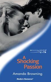 Cover of: A Shocking Passion by Amanda Browning